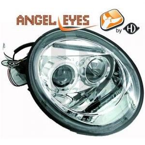 PHARES ANGEL EYES FOND CHROME VW NEW BEETLE (1998/05-2005)