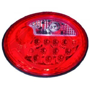 FEUX A LEDS CRISTAL/RED VW NEW BEETLE (1998/05-2005)