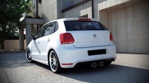 Jupe arrière pour VW Polo 6R GTI look R32