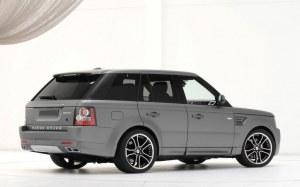 Rajout de pare choc ar Range Rover Sport startech