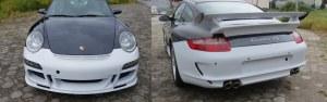 PROMO kit pare choc avant et arrière 997 look GT3
