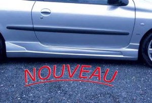 """Jeu de bas de caisse latérales 3 Portes 206 """"Virtuel"""" version R"""