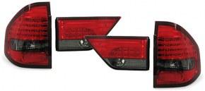 Feux arrières led pour BMW X3 rouge fumé