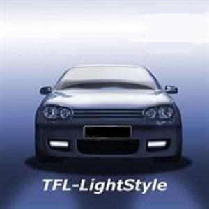 Feux diurnes, LED, VW Golf 4 R32, chromé
