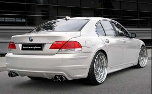 Pare-chocs arrière BMW S/7R E65 Facelift
