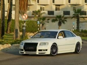 Rajout de pare choc av  Audi A8 D3 (4E) 2002 a 2005
