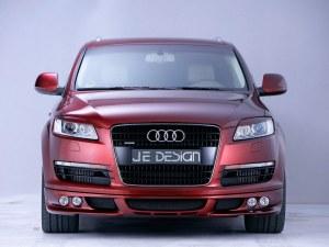 Lèvre AV Audi Q7 avec emplacement 4 doubles optiques