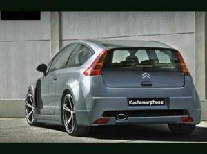 Pare chocs arrière Citroën C4 Coupé Kit Large