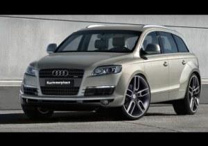 Extension d'aile avant et arriere Audi Q7