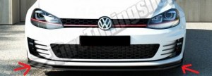 LAME DU PARE-CHOCS AVANT VW GOLF VII GTI