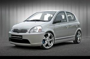 Pare choc avant Toyota Yaris  2003