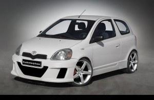 Bas de caisse Toyota Yaris