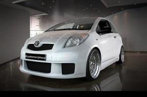 Pare chocs avant Toyota Yaris