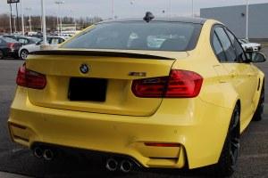 Aileron becquet carbone BMW M3 Coupé F80