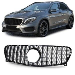 Calandre GT-R AMG Black pour Mercedes GLA 2014-2017