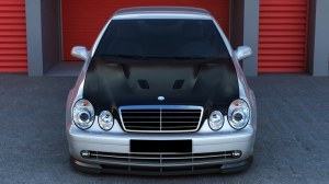 CAPOT CLK LOOK AMG BLACK SERIES