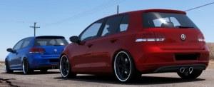 RAJOUT DU PARE-CHOCS ARRIÈRE VW GOLF VI LOOK R32