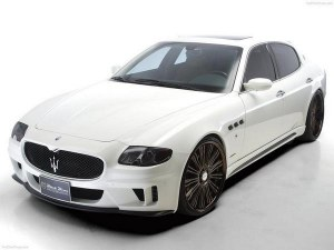 kit carrosserie exclusive maserati quattroporte