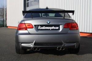 Aileron arrière carbone type GTS BMW M3 E92