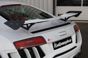Aileron Audi R8 avec pied en alu