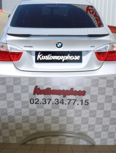 aileron becquet BMW E90 M4