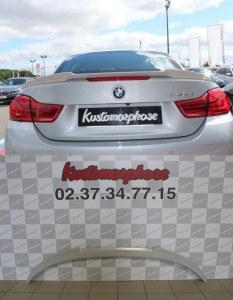 Aileron becquet BMW serie 4 M4 cabriolet F83 F33