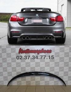 Aileron becquet Carbone RKP style BMW serie 4 M4 cabriolet F83 F33