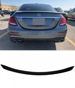 Aileron becquet de coffre noir mat Mercedes classe E W213