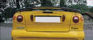 Aileron becquet ESQUIS Renault Megane I cabriolet