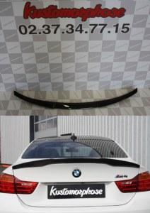 Aileron becquet carbone BMW M4 Coupé F82