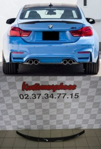 Aileron becquet carbone M performance BMW M4 Coupé F82