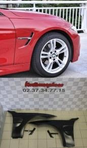 AILES AVANT EN METAL BMW F30 LOOK M3 F80 OU M4 F82
