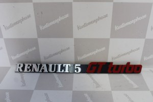 Anagramme logo arrière Renault 5 GT Turbo
