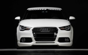 Rajout Lèvre Av pour Audi A1 8X sauf S-Line