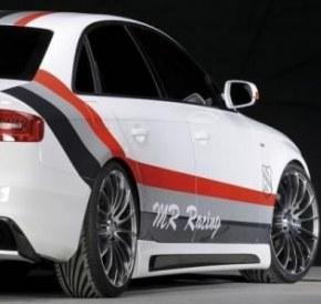 Bas de caisse avec prise d'aire pour Audi A4 B8 facelift 2011-2015 berline break