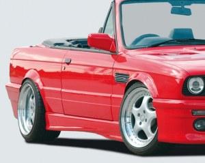 Bas de caisse Bmw E30 M3-look 2 et 4 portes en ABS