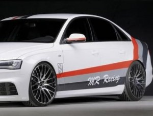 Bas de caisse look RS pour Audi A4 B8 facelift 2011-2015 berline break