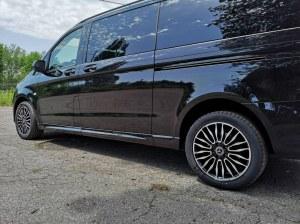 Bas de caisse Mercedes Classe V Vito W447 ST Line Châssis Long Double porte latéral