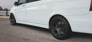 Bas de caisse Mercedes Classe V Vito W447 ST Line Châssis court