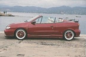 """Bas de caisse Renault Megane 1 Cabriolet """"Elypse"""" Esquiss'auto"""