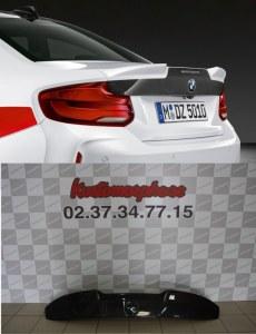 Becquet rajout de coffre carbone M Competion Style pour BMW M2 F87