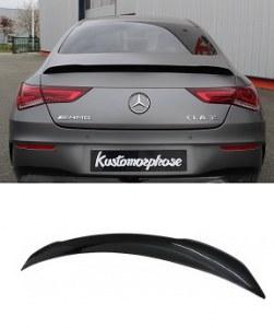 Becquet de coffre noir brillant pour Mercedes CLA W118 45 AMG
