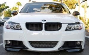 Splitter pour BMW Série 3 E90 E90 pack M 2005 à 2008