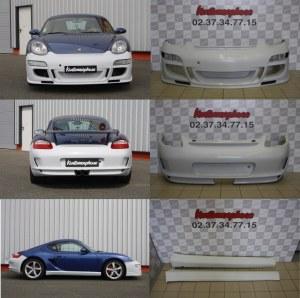 Promo KIT carrosserie Porsche Cayman 987 MK1 look GT3