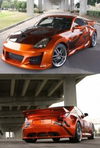 kit carrosserie large Nissan 350Z VENOM WIDE