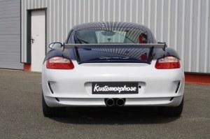 Pare chocs arrière GT3 Porsche Cayman 987