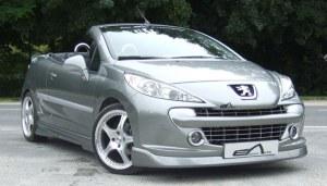 """Lame de pare choc avant Peugeot 207 """"élégance"""" Esquiss'auto"""