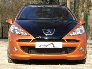 """Pare choc avant pour Peugeot 207 """"Oxyde"""" Esquiss'auto"""
