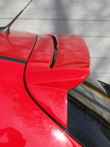 """Becquet de toit petit modèle Peugeot 207 """"Oxyde"""" Esquiss'auto"""