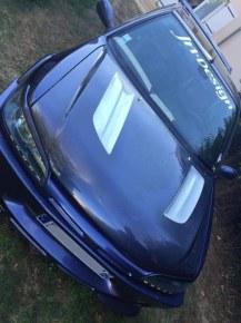 """Bossage de capot """"EMOTION"""" JN-Design pour Peugeot 306"""